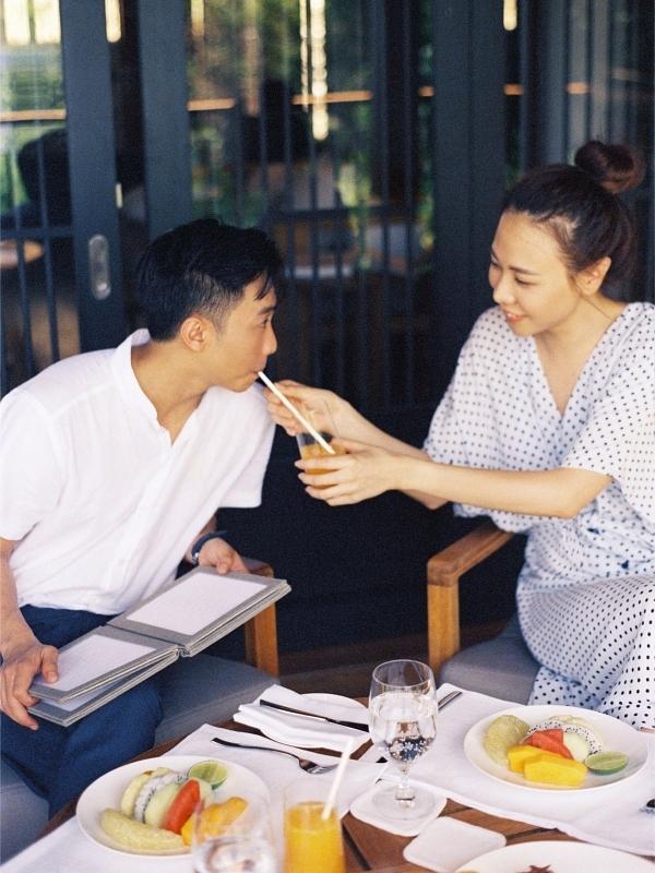 Đàm Thu Trang ôm chặt Cường Đôla trong ảnh cưới - 8