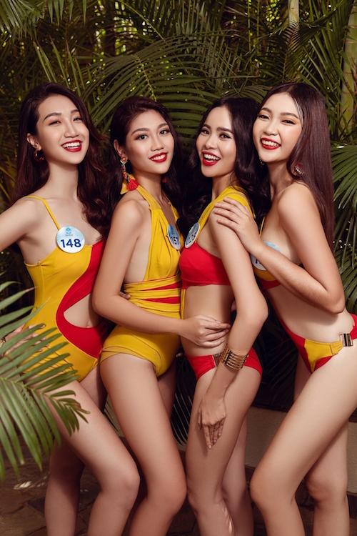 Các thí sinh khá tích cực rèn luyện hình thể, kỹ năng chuẩn bị vòng thi cuối cùng diễn ra vào ngày 3/8 tại Đà Nẵng.