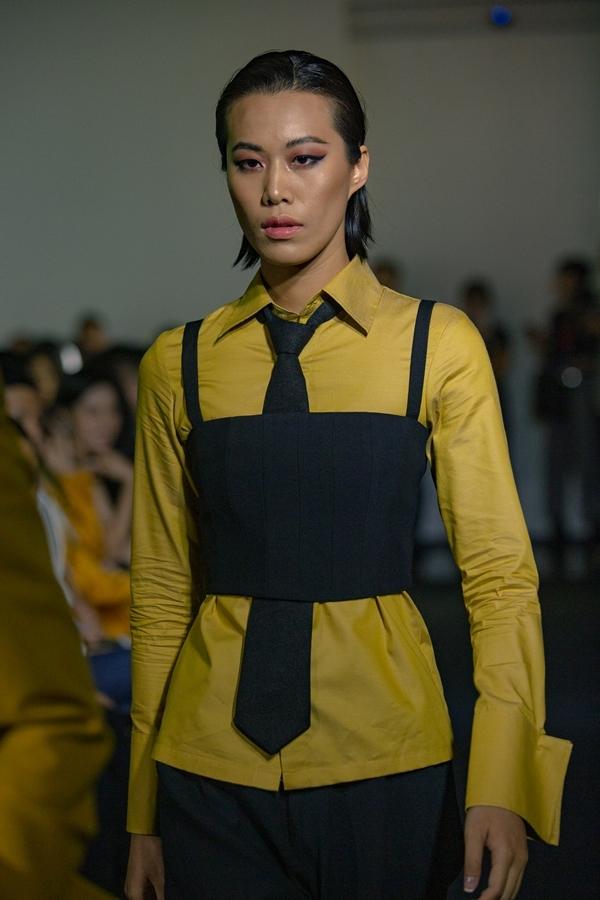 Phong cách menswear nhấn mạnh sự tự tin, cá tính của người mặc.