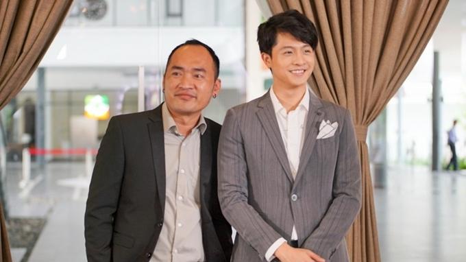 Harry Lu (phải) có nhiều cảnh diễn chung với Tiến Luật.