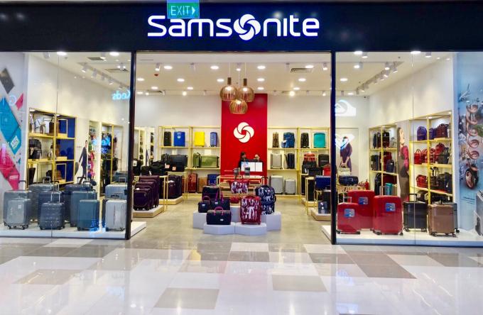Cửa hàng Samsonite đẳng cấp và chuyên nghiệp được đầu tư chỉn chu, bài bản