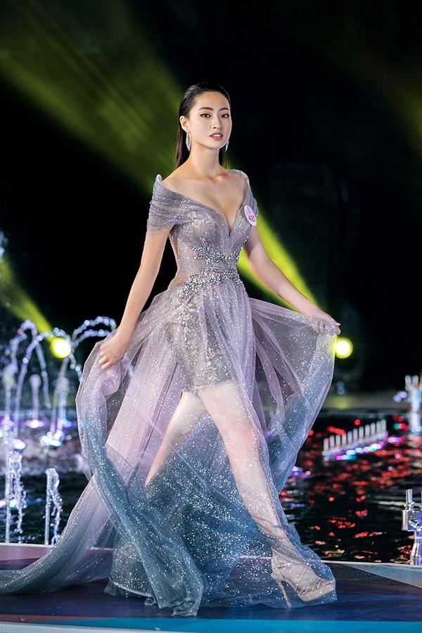 Lương Thùy Linh được nhận xét là bản sao Hoa hậu Đỗ Mỹ Linh. Cô hiện học tập ở trường Đại học Ngoại thương Hà Nội và cũng ghi tên mình vào top 3 phần thi Top Model tối 29/7.