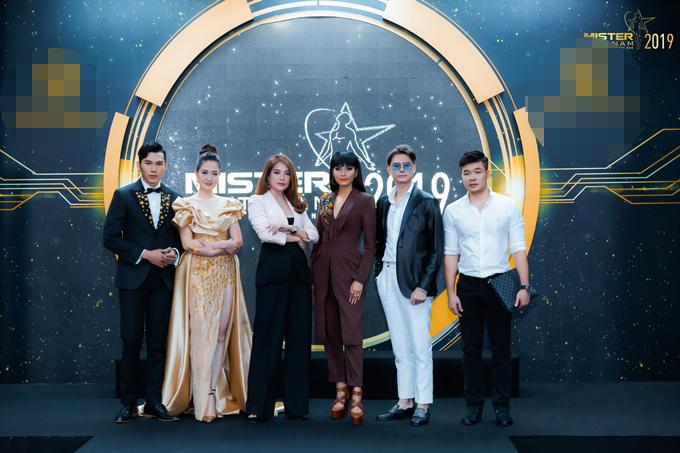Dàn giám khảo của Mister Việt Nam 2019.