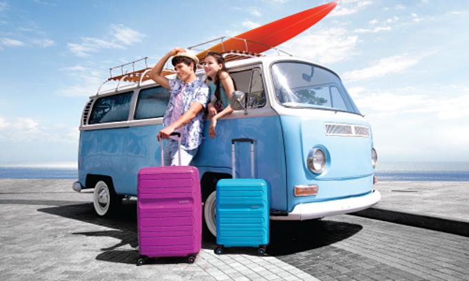 Vali American Tourister Sunside trị giá 4.000.000VNĐ