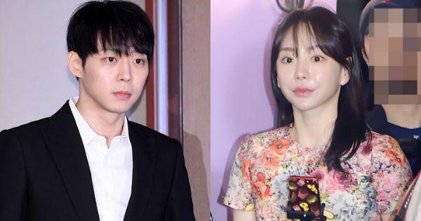Yoo Chun và hôn thê cũ Hwang Hana.