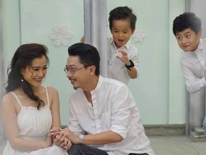 Cuộc sống của gia đình Lâm Vỹ Dạ - Hứa Minh Đạt sau 9 năm kết hôn - 6