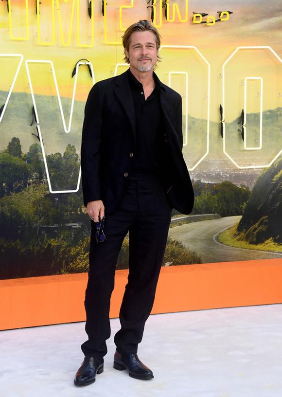Brad Pitt cũng đã lấy lại phong độ sau giai đoạn sóng gió ly hôn với Angelina Jolie.