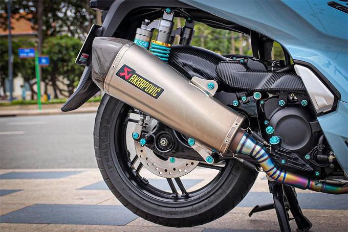 Honda SH300i lên đồ gần trăm triệu ở Vũng Tàu - 1