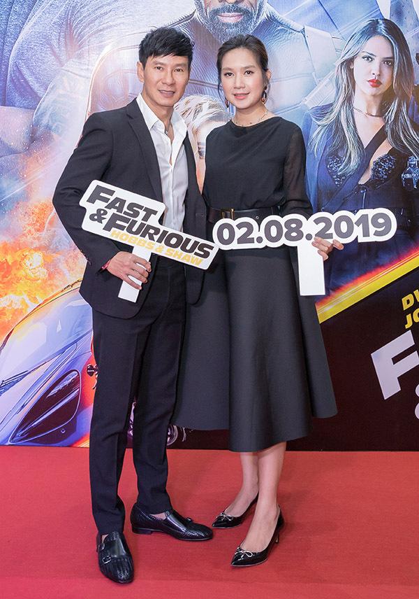 Vợ chồng Lý Hải - Minh Hà cũng là fan của loạt phim Fast & Furious.