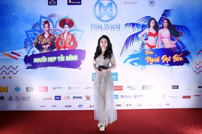 Cố vấn thẩm mỹ và hình thể Miss World Vietnam 2019 - Đặng Thị Xuân Hương, nhà sáng lập Thẩm mỹ viện Xuân Hương.