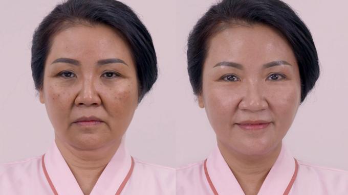 Nhan sắc của nghệ sĩ Ngân Quỳnh trước và sau khi tham gia phim Về nhà đi con - 2