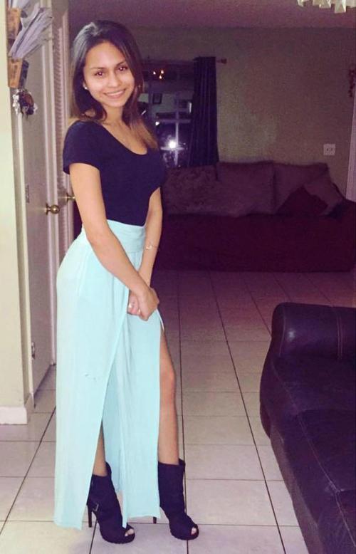 Winnie Mendoza (21 tuổi) - nạn nhân bị Stephen Myers bắn chết hôm 26/7. Ảnh: FB.