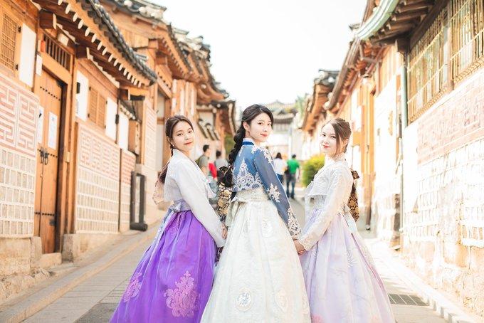 Điểm chụp ảnh hanbok đẹp ở Seoul