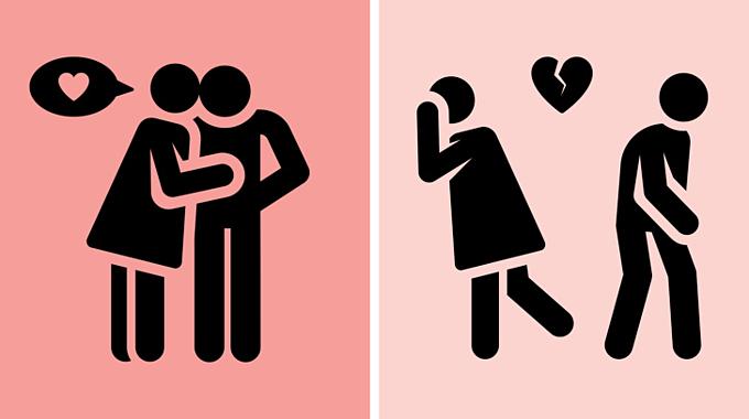 Phụ nữ và đàn ông đều có nguy cơ trở thành kẻ lừa dối trong tình yêu.