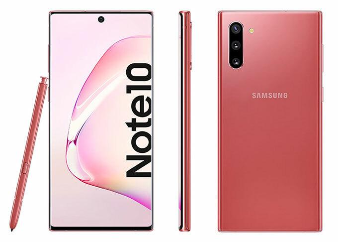 Những điểm mới được chờ đợi trên Galaxy Note 10 - 1