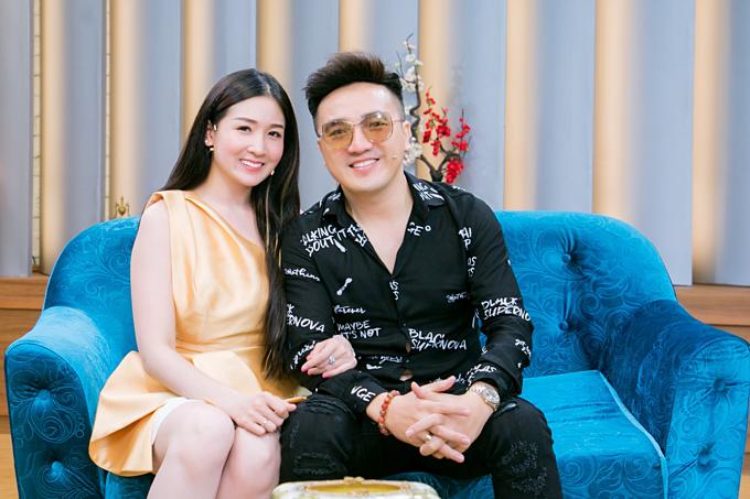 Dương Ngọc Thái và Triệu Ái Vy hiện có cuộc hôn nhân hạnh phúc.