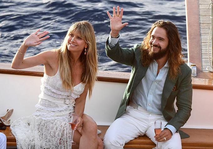 Cặp sao đã đăng ký kết hôn hồi tháng 2 và có lễ cưới đơn giản ngay tại tòa án Los Angeles. Sau 6 tháng, vợ chồng Heidi quyết định tổ chức đám cưới thứ hai tại đảo Capri, Italy, mời đông đảo người thân, bạn bè tới tham dự.