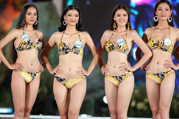 Từ trái qua: Trần Hoàng Ái Nhi, Nguyễn Hà Kiều Loan,
