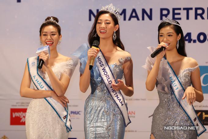 Hoa hậu Thuỳ Linh: Tôi muốn kiếm bạn trai học giỏi, vui tính - 7