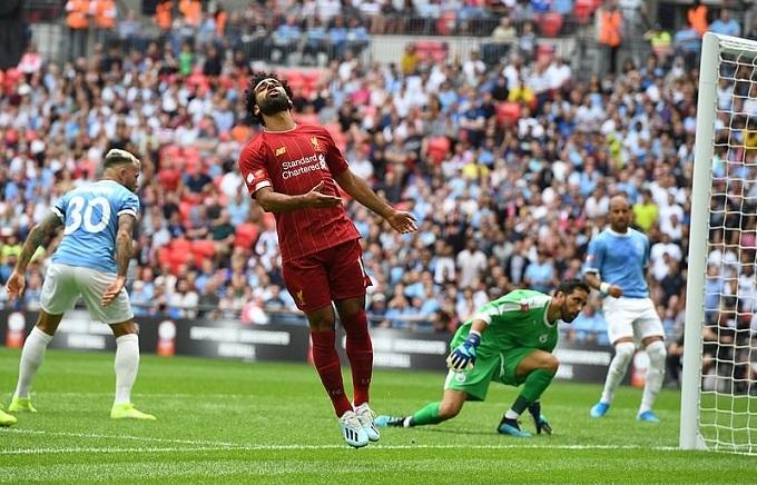 Mohamed Salah là người dứt điểm nhiều nhất, nhưng không thắng nổi thủ môn Bravo.