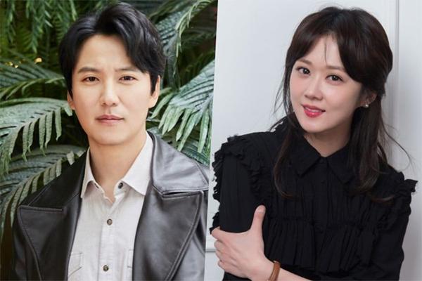 Jang Nara và bạn diễn Kim Nam Gil.