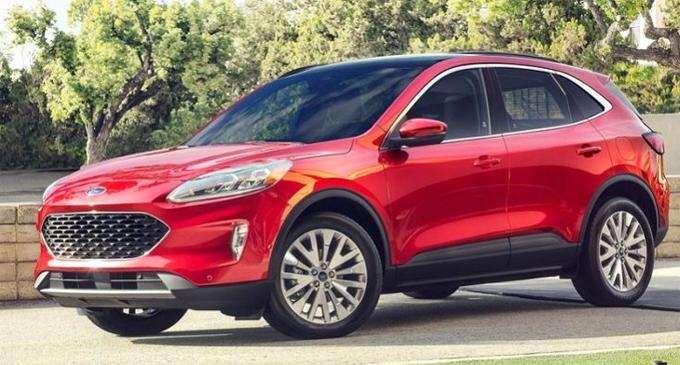 Ford Escape 2020 sắp về Việt Nam