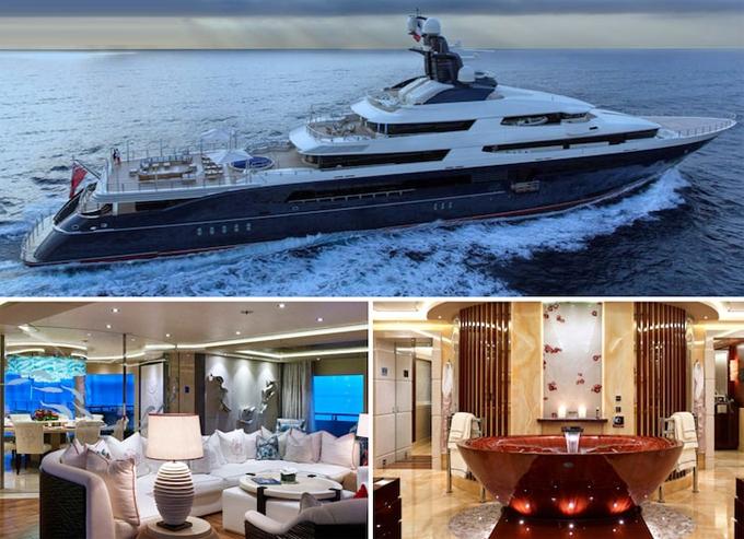Du thuyền sang trọng Kylie Jenner đã thuê để chuẩn bị cho tiệc sinh nhật vào thứ 7 tới.