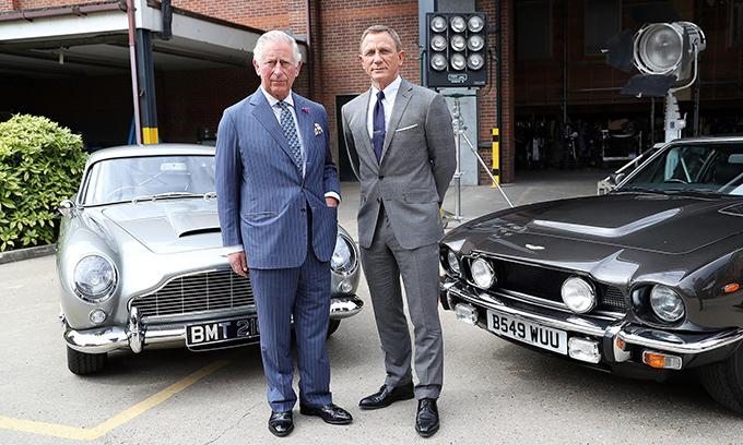 Thái tử Charles cân nhắc về việc làm khách mời trong phần phim sau của Điệp viên 007.