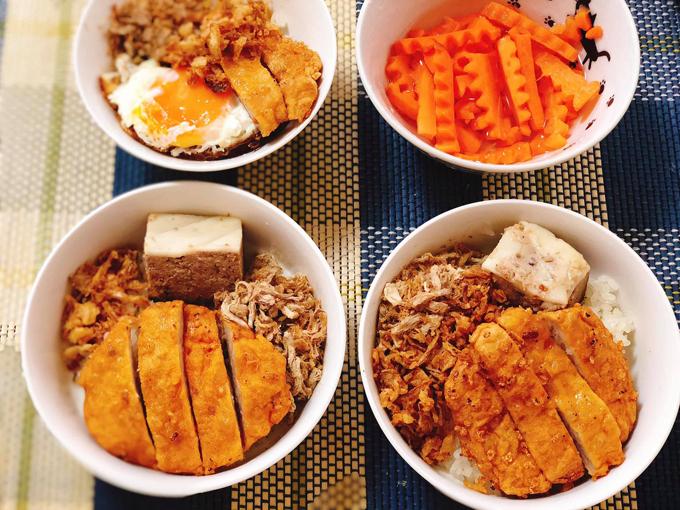 Hai vợ chồng tôi đều là người Việt, chuộng món Việt nên tôi thường nấu các món ăn quê nhà cho cả gia đình.  Tôi chú trọng cho các bữa sáng vì đây không chỉ là bữa ăn đầu ngày, tốt cho sức khỏe, cung cấp năng lượng cho ngày dài làm việc mà còn là thời gian để gắn kết gia đình. Chúng tôi sẽ cùng nhau ăn sáng, xem chương trình thiếu nhi của con thật vui vẻ trước giờ làm, ghi nhớ từng khoảnh khắc ấm áp bên nhau, chị cho hay.