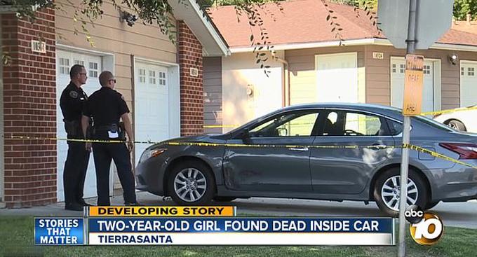 Mẹ bỏ quên con gái 2 tuổi đến chết trong ôtô để đi ngủ trưa