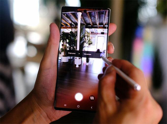 Galaxy Note 10 và Note 10+ trình làng - 1