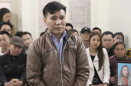 Bị cáo Cường tại phiên tòa sơ thẩm.