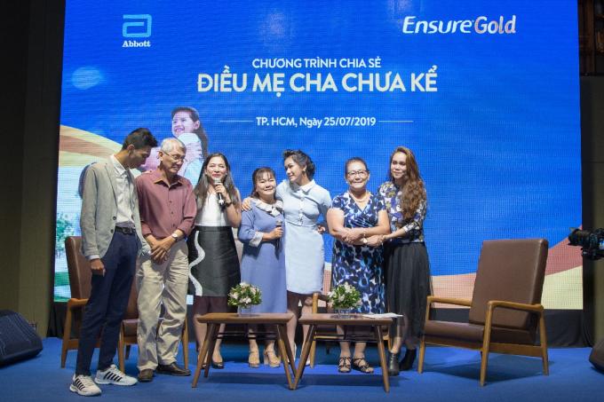 Ensure tổ chức chương trình Điều mẹ cha chưa kể nhân dịp mùa Vu Lan năm 2019.