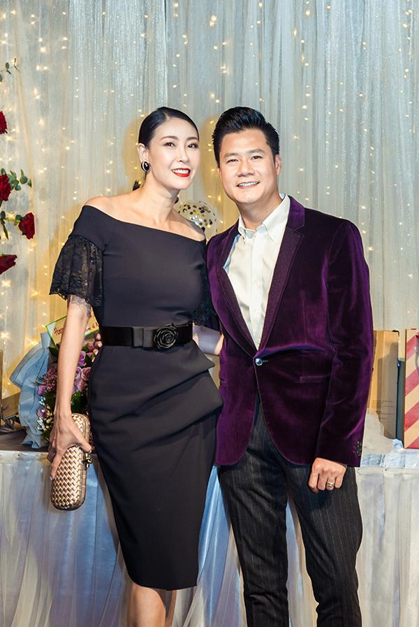 Hoa hậu Hà Kiều Anh cũng là bạn thân của Quang Dũng nhiều năm nay.