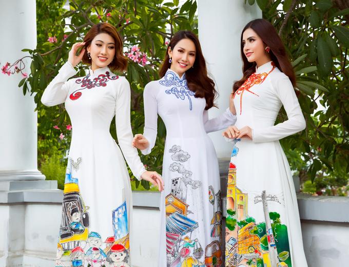 Sau buổi ra mắt bộ sưu tập Bức thư tình số 1, Minh Châu tiếp tục tạo nên những thiết kế mới dành cho mùa Vu Lan.