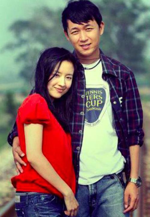 Đổng Khiết và Phan Việt Minh thời còn là vợ chồng.