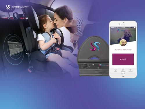 Thiết bị chống bỏ quên trẻ trong ôtô có kết nối với điện thoại của bố mẹ, cảm biến quang học, giúp cảnh báo cho bố mẹ, tránh bỏ quên trẻ khi rời khỏi xe. Xem thông tin và video sản phẩm tại đây.