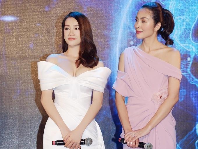 Nhã Phương cho biết cô rất ngưỡng mộ đàn chị Tăng Thanh Hà vì cả tài lẫn sắc.