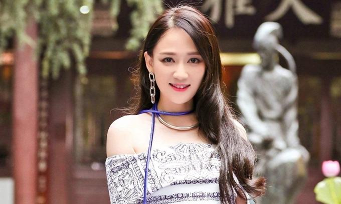 Nữ diễn viên Trần Kiều Ân.