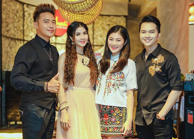 Diễn viên Thanh Trúc ủng hộ Kha Ly vừa đóng phim vừa ca hát.