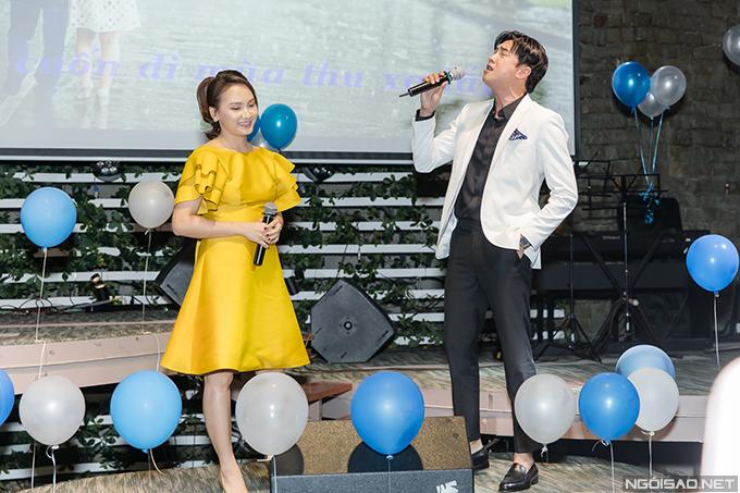 Nữ diễn viên Về nhà đi con được nhận xét có giọng hát không kém gì các ca sĩ.