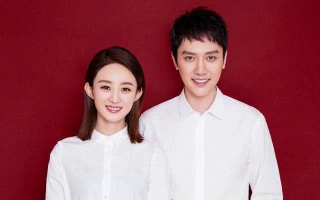 Vợ chồng Triệu Lệ Dĩnh, Phùng Thiệu Phong đăng ký kết hôn tháng 10/2018.