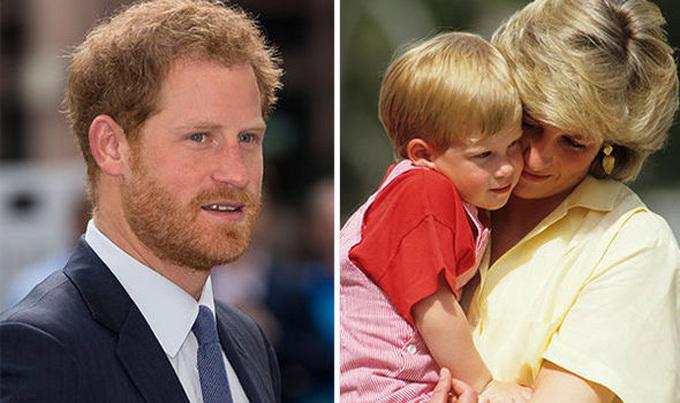 Hoàng tử Harry được nhận xét là người sống bản năng, luôn phải cố gắng đểkiềm chế cảm xúc của bản thân. Ảnh: Daily Express.
