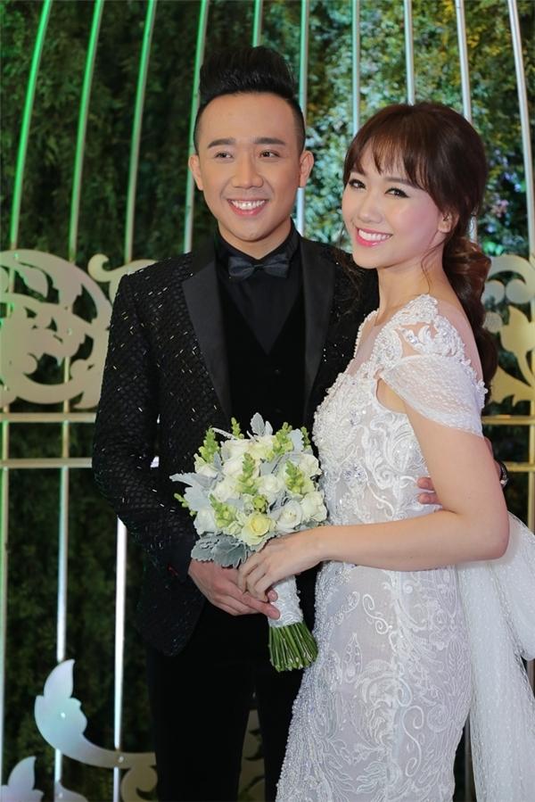 Trấn Thành và Hari Won tổ chức đám cưới diễn ra vào cuối tháng 12/2016.