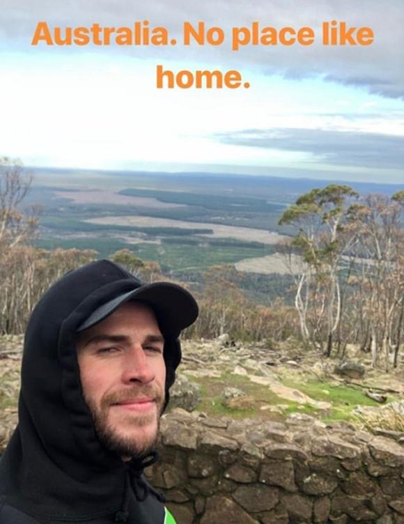 Tài tử mang nặng tâm tư tìm kiếm sự bình yên ở cảnh sắc quê hương. Australia, không đâu giống như ở nhà, anh chia sẻ trong bức ảnh đăng trên Instagram.