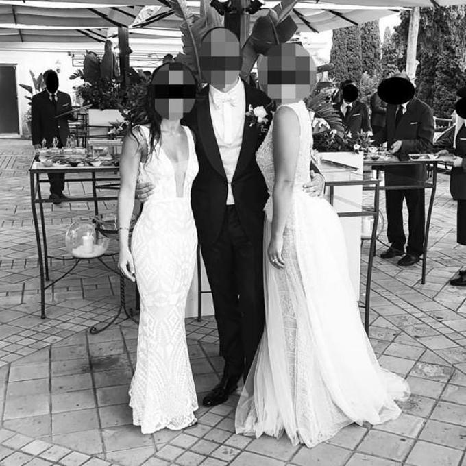 Bức ảnh từngkhiến cộng đồng mạng hoang mang vì không biết ai mới là cô dâu.