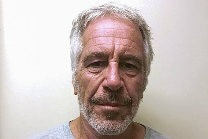 Hình ảnh chụp tỷ phú Jeffrey Epstein khi ở trong tù hồi tháng 7 vừa qua. Ảnh: NYT.