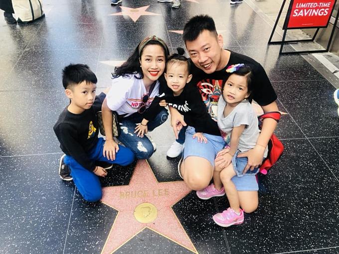 Gia đình Ốc Thanh Vân.