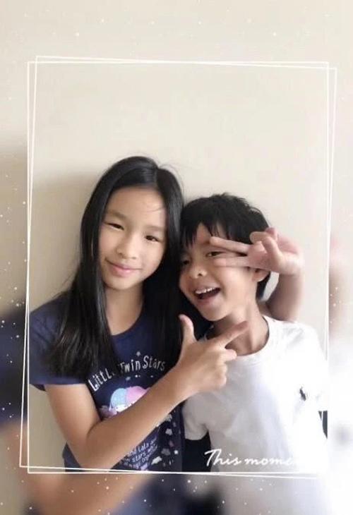 Hai con của Trương Đình.