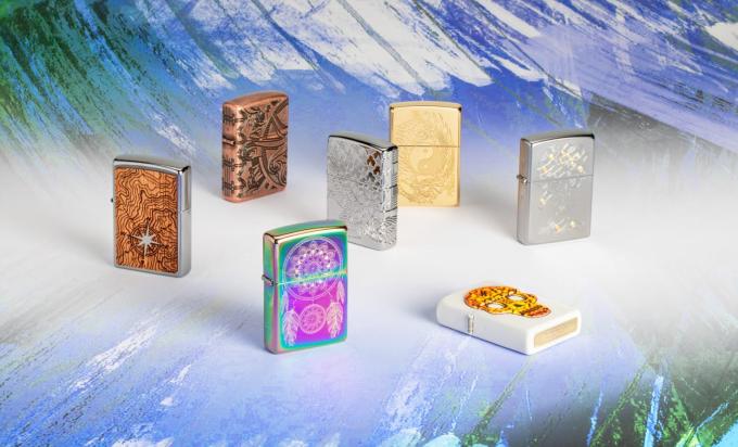 Zippo ra mắt bộ sưu tập bật lửa Luxury 2019